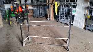 Commercial rolling rack
