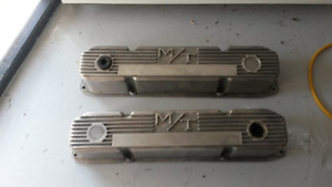Vintage Mickey Thompson Mopar Valve Covers B Block Chrysler 440