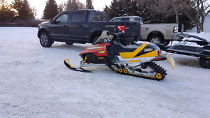 2002 Ski-Doo mxz 800 with Reverse
