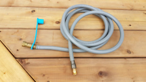 "10ft 3/8"" Natural Gas BBQ Hose w/Quick Connect Coupling"