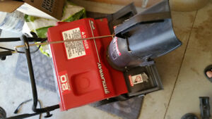 Murray electric snowblower