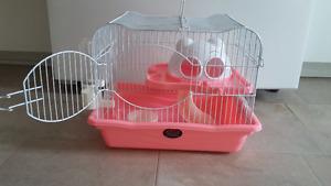 Cage pour petit rongeur.