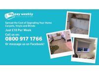 Catpert's Vinyls and blinds £10 per week
