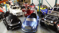 Ride on toy cars liquidation / Liquidation voiture electrique !!