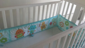 white  baby crib for sale  by ower
