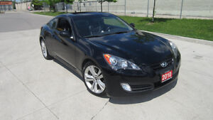2010 Hyundai Genesis Auto, leather / roof, certified, low K