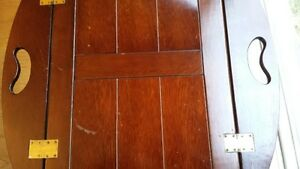 OLD WOODEN BUTLER TABLE price drop West Island Greater Montréal image 5