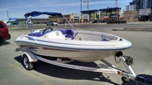 Jetboat Sea Ray F14 1995 turbine
