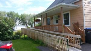 Maison avec terrain de 22 639 pc à Ste-Brigide d'Iberville