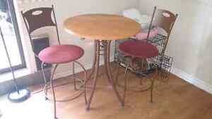 Bistro table and chairs MAKE ME AN OFFER MUST GO