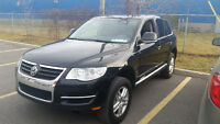 2008 Volkswagen Touareg Black on black SUV, Crossover