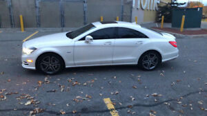2012 cls 550 amg pack amg rims email me