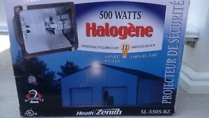 Heath 500W Halogen Light Fixture