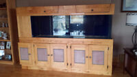 Fish Tank and Cabinet