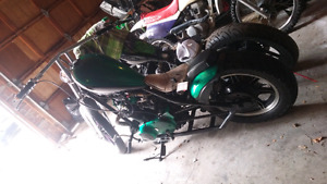 One of a kind xs650 for sale