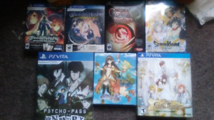 Limited edition ps vita games