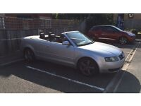Audi A4 convertible limited 30 injection s line