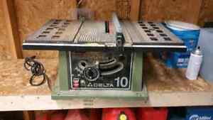 Delta 10 inch table saw.