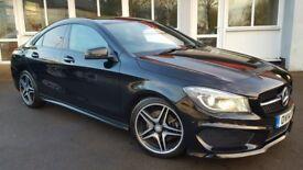 Mercedes CLA 2.1 CLA 220 CDI AMG SPORT DCT (black) 2014