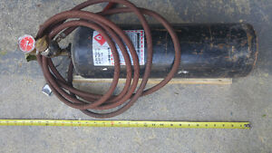 Acetylene tank and torch kit