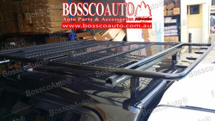 #9439 Econovan Low Roof Black Universal Roof Tray 185x125x5cm Prestons Liverpool Area Preview