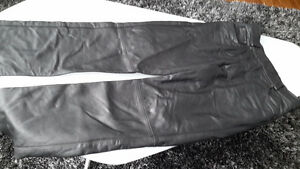 Pantalon de cuir