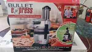 Bullet Express 8 minute meal machine and juicer Peterborough Peterborough Area image 2