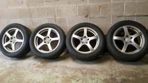 225/55R17 rims and tires