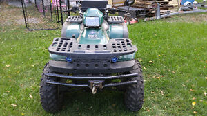Polaris Magnum 500 4x4 with plow and many extras