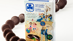 Girl Guide Chocolate Mint Cookies