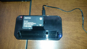 motorola atrix phone dock charger/ battery charger (in one)