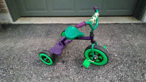 Toddler's T-REX Tricycle Purple & Green Colour