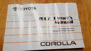 2002 Toyota Corolla Manual Kitchener / Waterloo Kitchener Area image 1