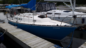 C& C 29 Sailboat For Sale - docked in KINGSTON, ON