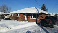 Renovated 4 bedroom main floor bungalow apartment in Orleans