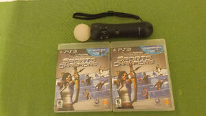 2 PS3 SPORTS CHAMPIONSHIP GAMES WITH ONE CONTROLER