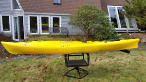 Necky Rip 12 kayak with skeg