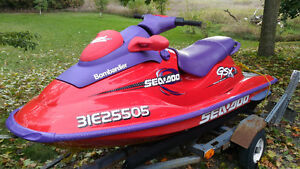 1998 SeaDoo GSX Limited - Reduced