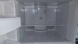 White GE Fridge for sale in excellent condition