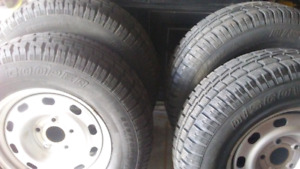 Dodge ram winter rims & tires