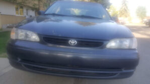 Toyota Corolla 275005km, good condition, 2000 years