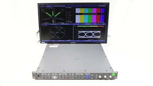 Harris Videotek VTM-4100PKG-EH Waveform Monitor Opt AAP HD EYE-H VTM-A3-OPT-3TL