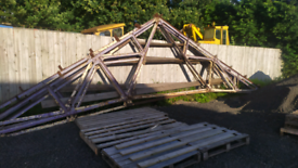 Steel Roof Apex x4