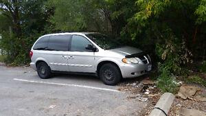 Wanted Dodge Caravan for parts