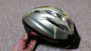 Bell bike helmet.