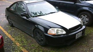 Sale or trade 1996 civic si    LOTS DONE