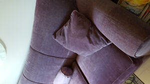 SOFA -  ITALIAN MADE - PURPLE/PLUM