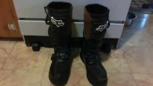 ~FOR SALE YOUTH SZ 7 FOX MOTOCROSS BOOTS~