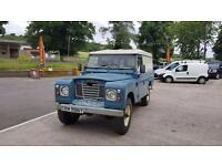 1982 LAND ROVER 109 4 CYL CLASSIC DEFENDER SERIES 3 III