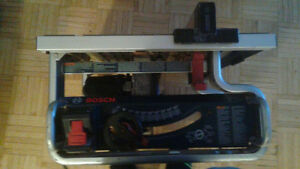 10 inch Portable Bosch Table Saw